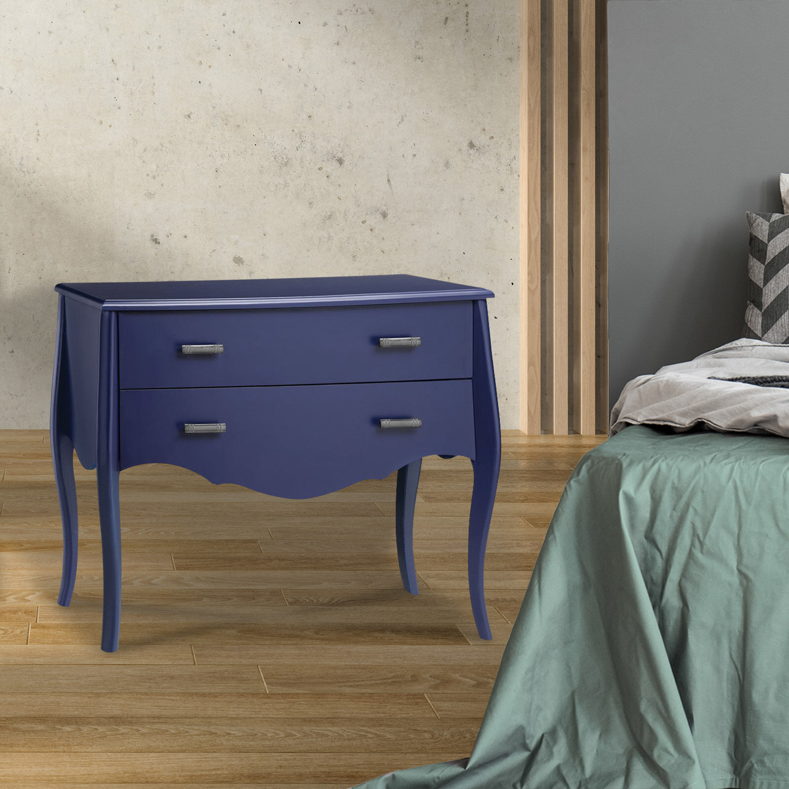 Spann 2 Drawer Nightstand