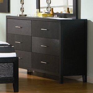 Debary 6 Drawer Double Dresser by Brayden Studio