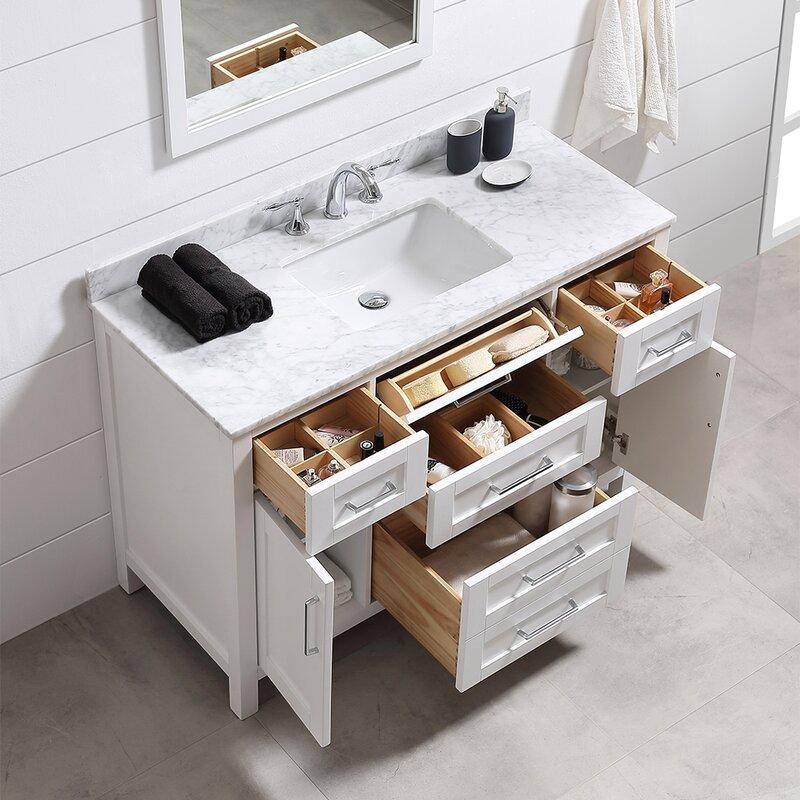 "Ove Decors Tahoe 48"" Single Bathroom Vanity Set with ..."