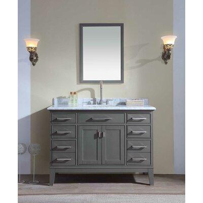 "Bathroom Vanities Nashville Tn ari kitchen & bath jude 48"" single bathroom vanity set & reviews"