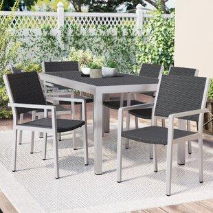 Royalston 7 Piece Aluminum Dining Set