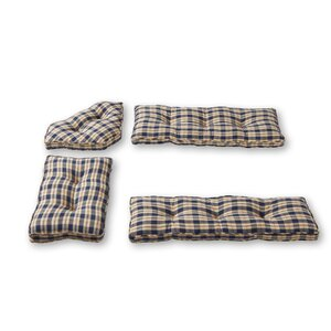 Applegate 4 Piece Bench Cushion Set
