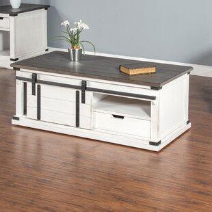 Kerensa Barn Door Coffee Table & Sliding Barn Door Coffee Table | Wayfair