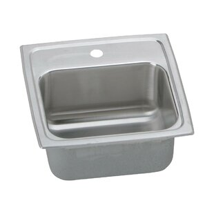Lustertone 15u0027u0027x 15u0027u0027 Drop In Bar Sink