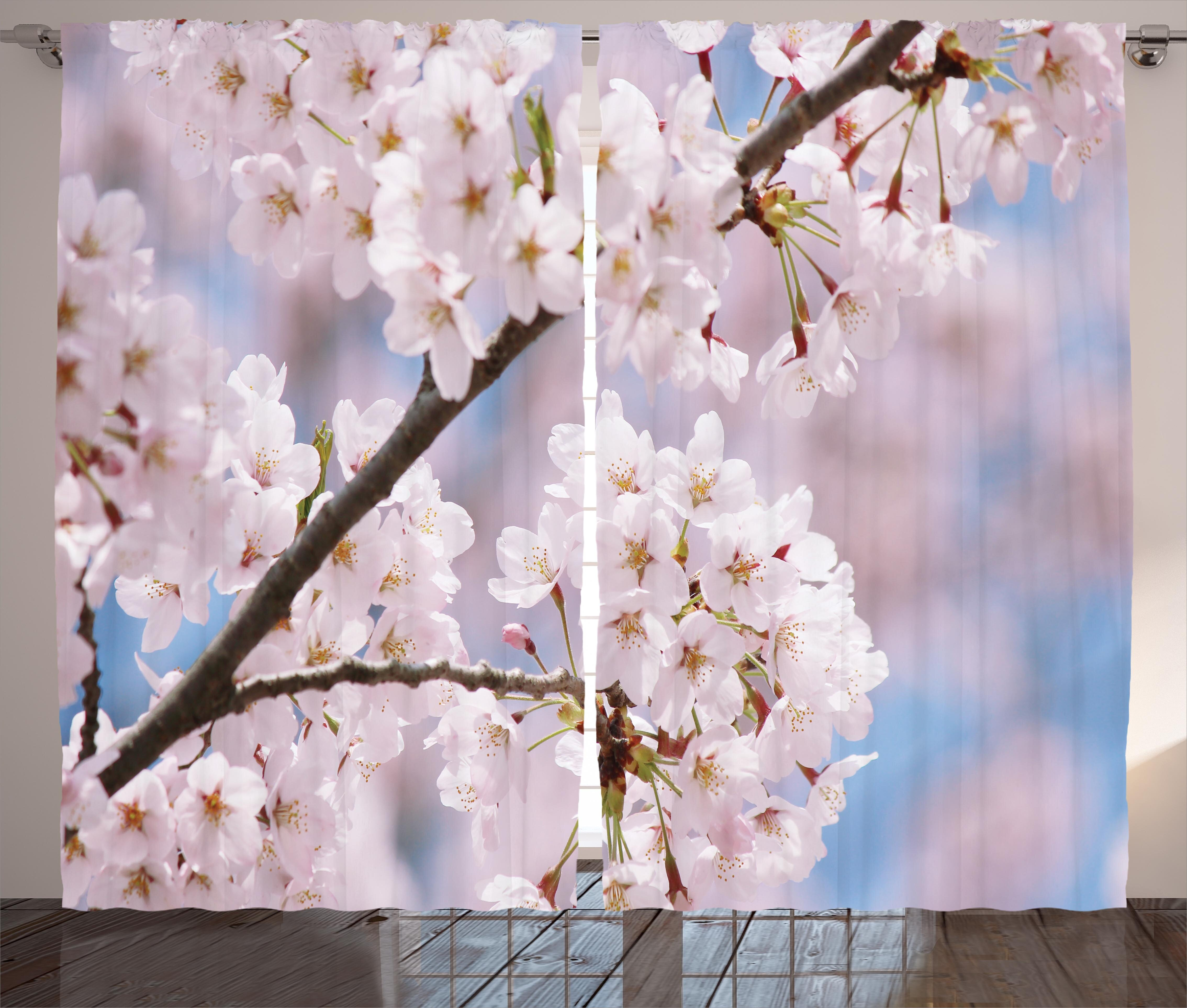 East Urban Home Spring Floral Tree Branches Cherry Blossom