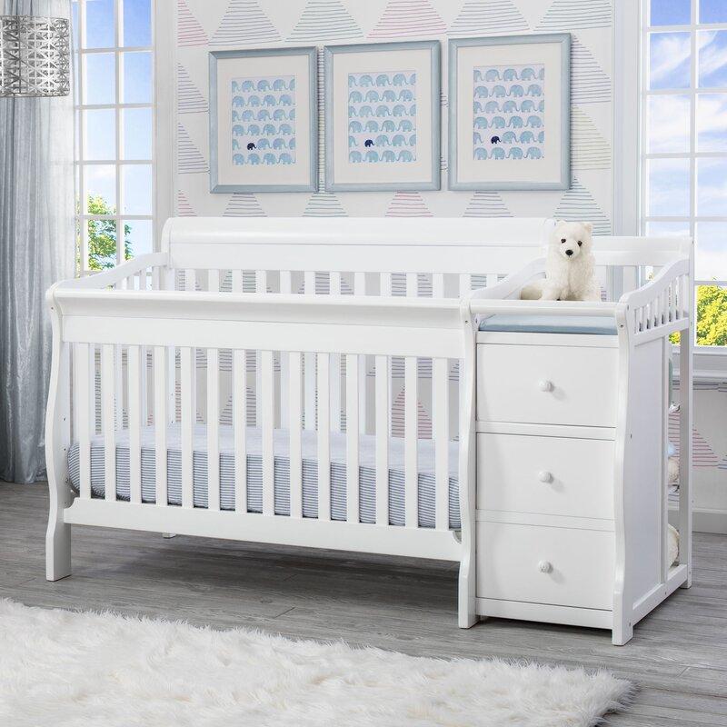 default_name - Delta Children Princeton Junction 4-in- Crib And Changer Combo