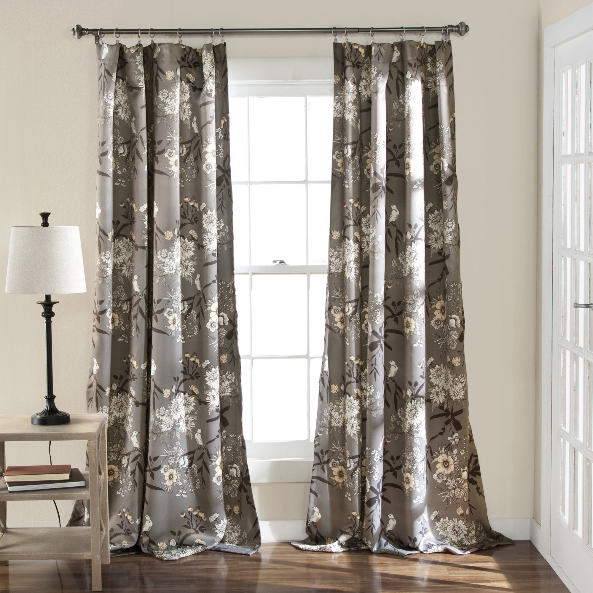 curtains window earth tone treatments glamour