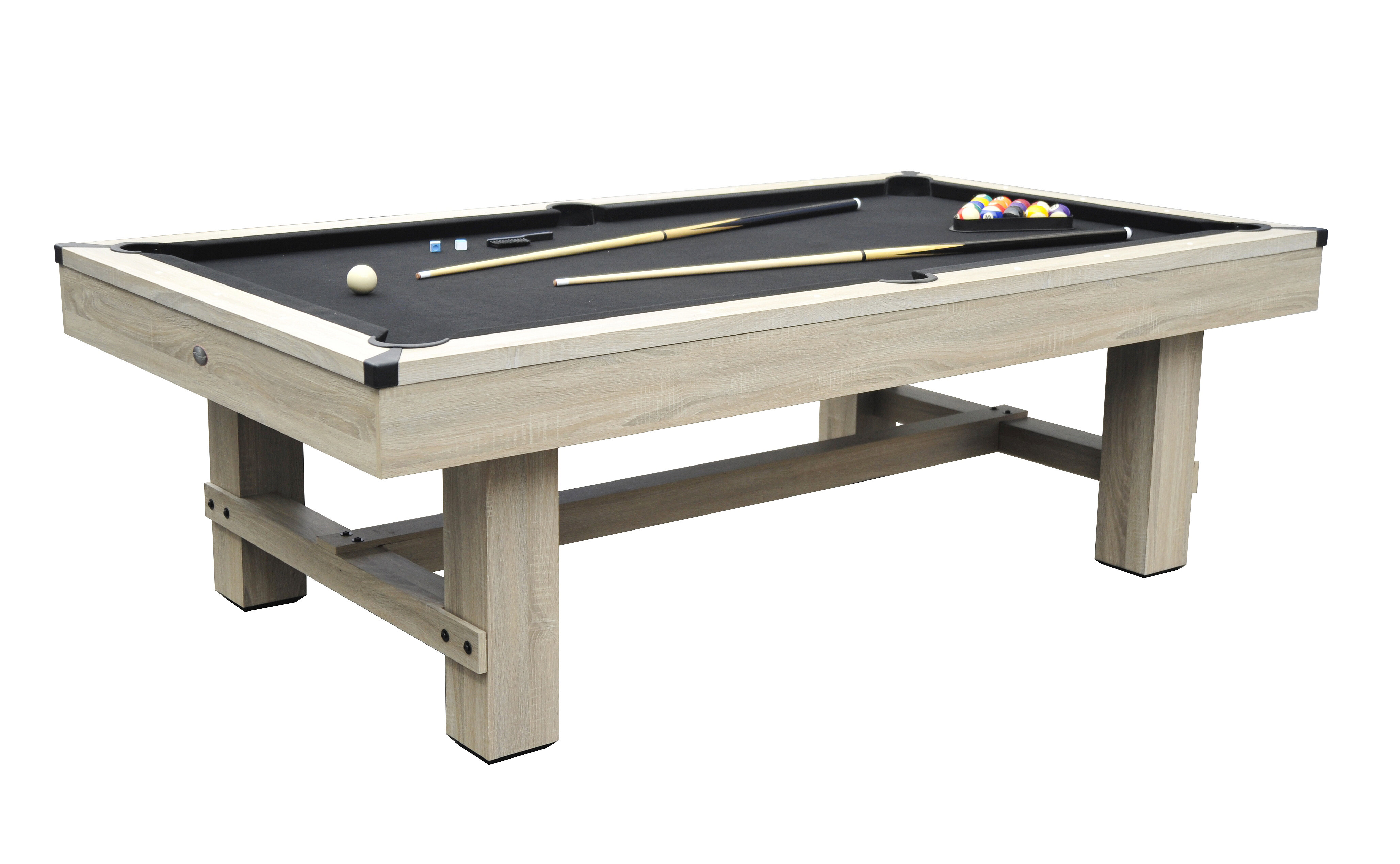 Pool billiards tables youll love wayfair bryce 7 pool table greentooth Choice Image