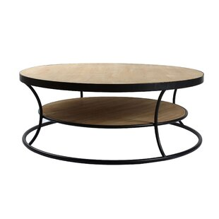 Genevieve Curve Coffee Table With Storage