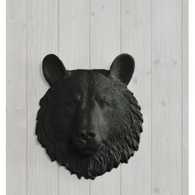 White Faux Taxidermy Bear Head Wall Décor   Wayfair