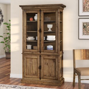 West Point Lighted China Cabinet
