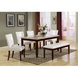 Square Dining Table With Bench Wayfair