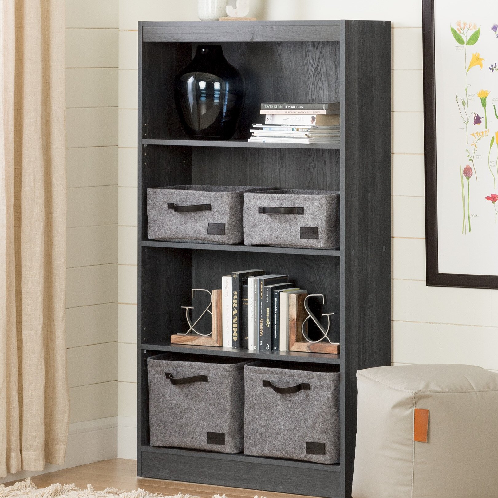 South Shore Axess Standard Bookcase U0026 Reviews | Wayfair