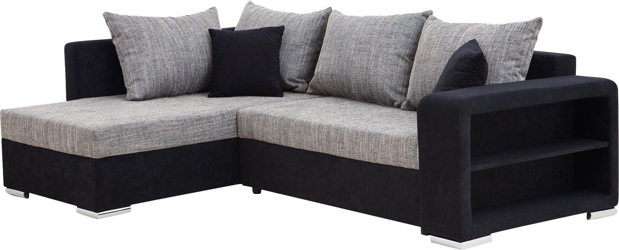 home haus ecksofa balgalal mit bettfunktion bewertungen. Black Bedroom Furniture Sets. Home Design Ideas