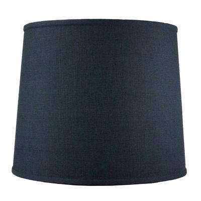Alcott Hill 14 Shantung Drum Lamp Shade Color: Slate Blue