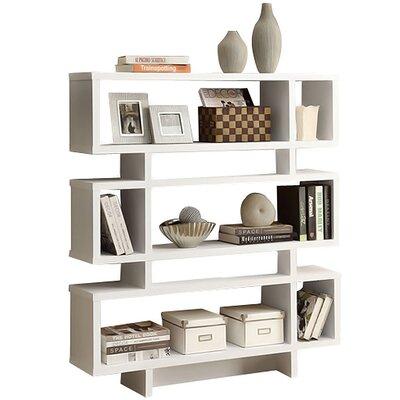 Turn on the Brights Aleksandra Geometric Bookcase Finish: White