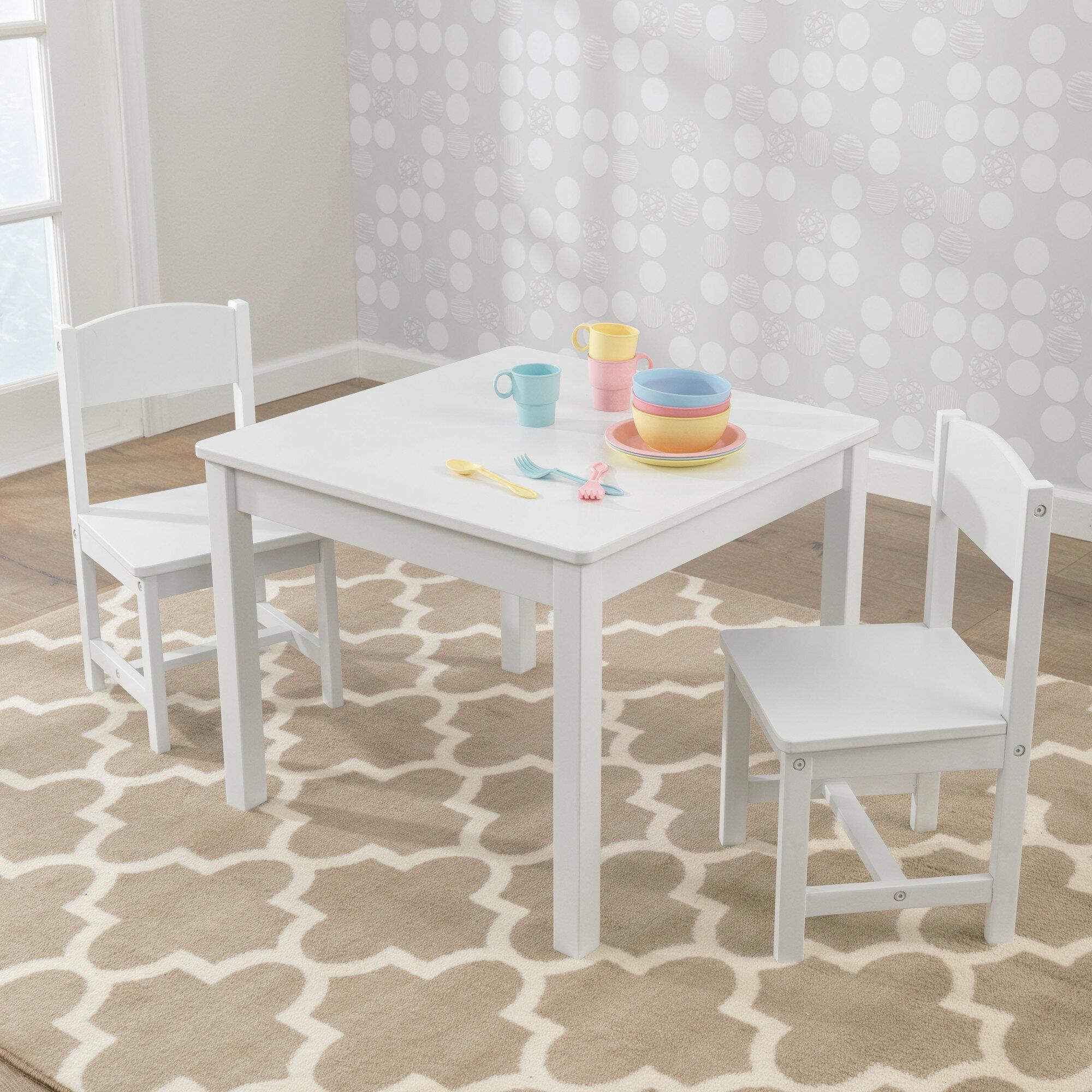 interesting kinder tisch und stuhlset u bewertungen wayfairde with kindertisch mit sthle