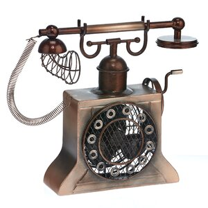 Crank Phone Table Fan