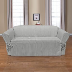 Monroe Box Cushion Sofa Slipcover by CoverWorks