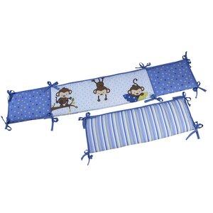 3 Little Monkey Traditional Padded Bumper