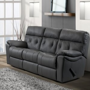 Sabrina Leather Reclining Sofa by Relaxon