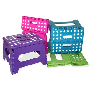 1-Step Plastic Folding Step Stool  sc 1 st  Wayfair & Step Stools Youu0027ll Love | Wayfair islam-shia.org