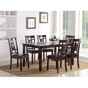 Sikorski 7 Piece Dining Table Set
