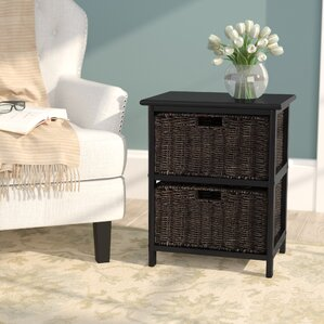 Clarissa End Table With Storage by Cha..