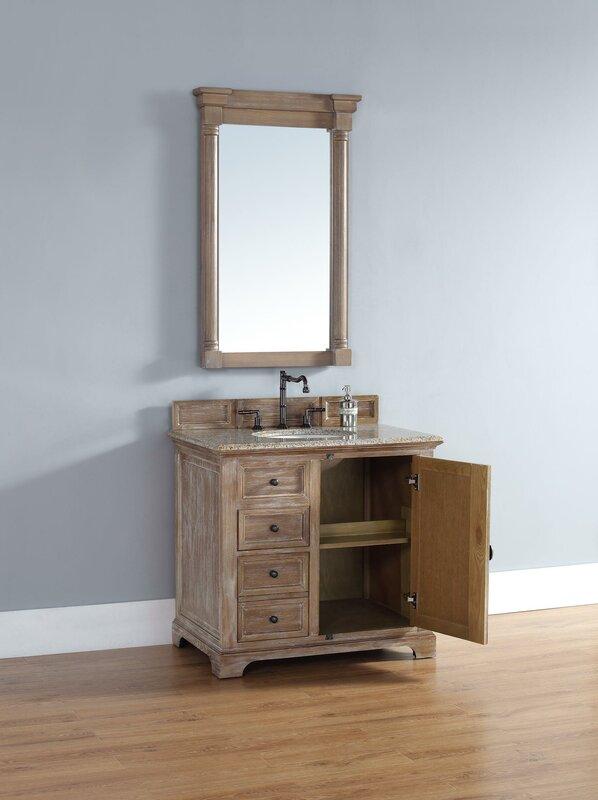 Darby home co belhaven 36 single driftwood bathroom - Bathroom showroom cleveland ohio ...