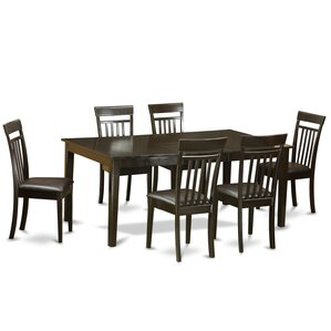 Henley 7 Piece Dining Set by East West Fu..