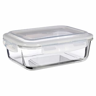 Rectangle 1520ml Glass Food Storage Container