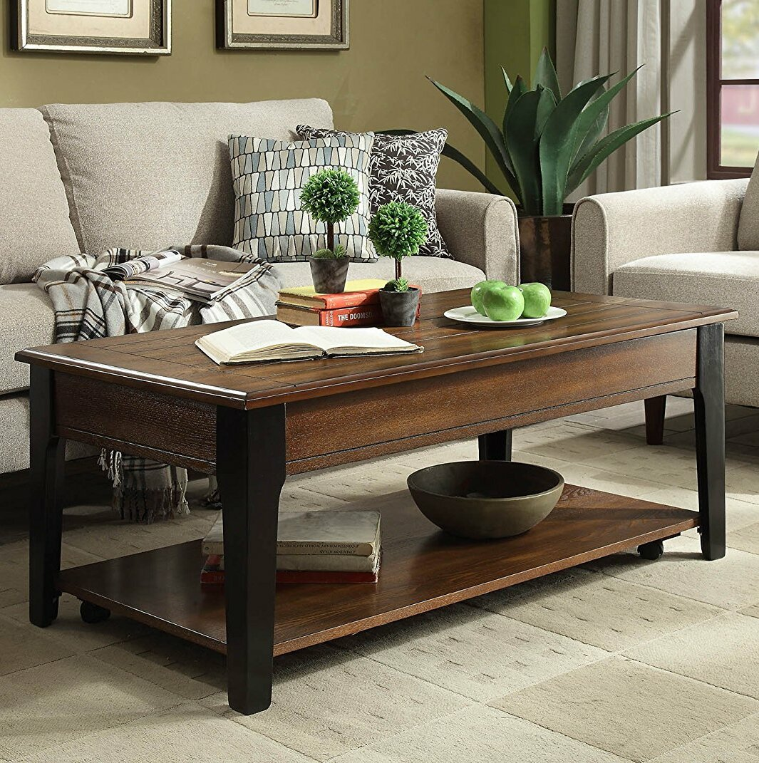 14b0d19c5b6 Red Barrel Studio Farrer Lift Top Coffee Table