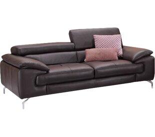 Modern & Contemporary Italian Leather Sofa   AllModern