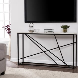 Captivating Reaves Skinny Console Table