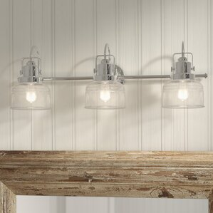 pictures of bathroom vanity lights. Gotha 3 Light Vanity Bathroom Lighting