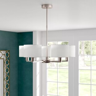 Suri 5 Light Shaded Chandelier