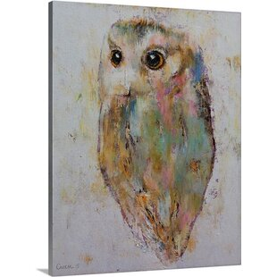 Owl By Michael Creese Graphic Art On Canvas