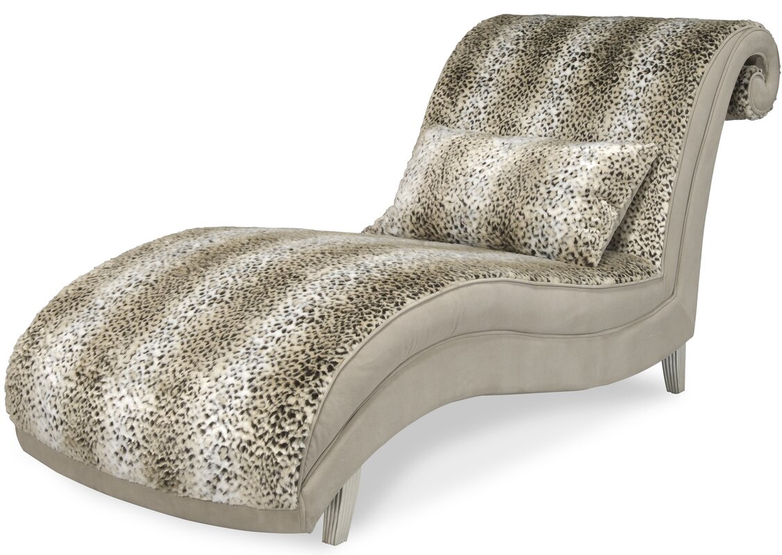 Hollywood Swank Chaise Lounge  sc 1 st  Wayfair.com : leopard print chaise lounge chair - Sectionals, Sofas & Couches