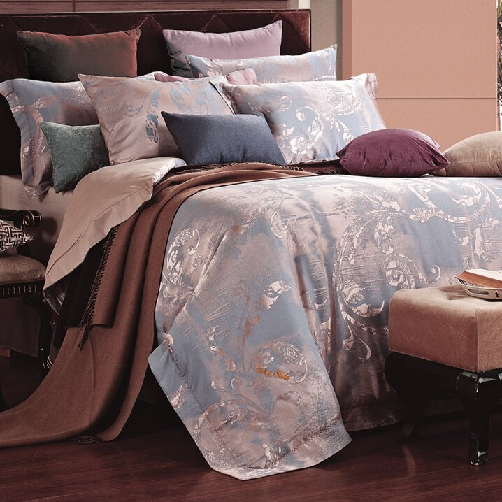 Dolce Mela 6 Piece Reversible Duvet Set