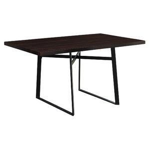 Cyprien Metal Dining Table by Latitude Run