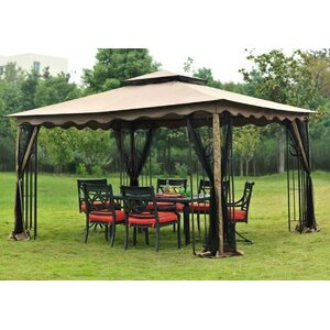 Replacement Canopy for 10' W x 12' D Regency Gazebo