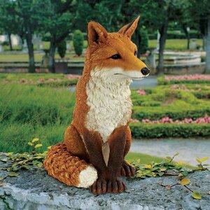 Simon The Fox Garden Statue