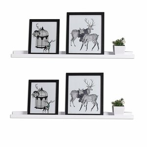 Photo Ledge Picture Display Floating Shelf (Set of 2) (Set of 2)