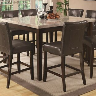 Colberg Wood Counter Height Dining Table