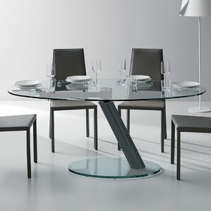 Onda Oval Extendable Dining Table by Yuma..