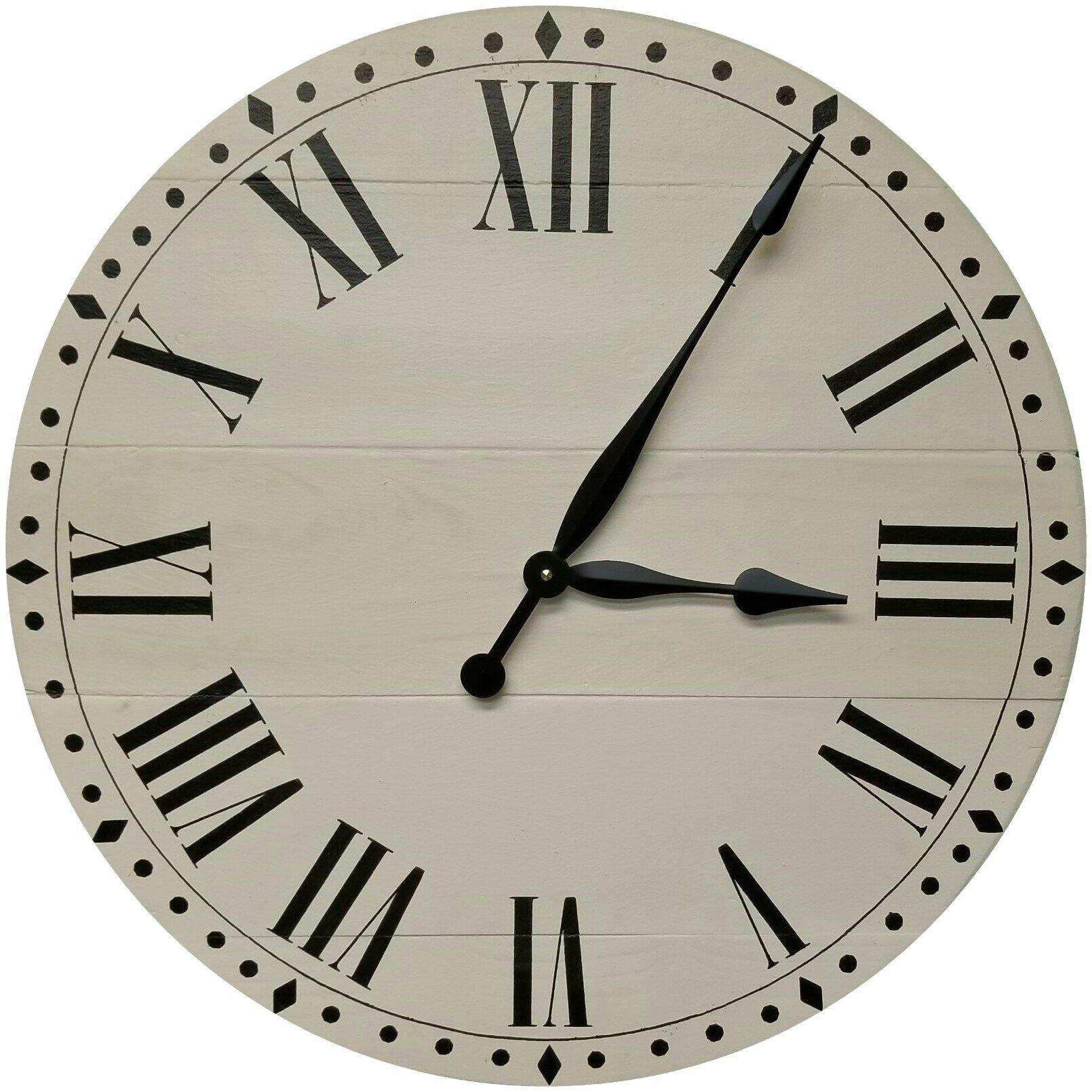 Oversized Farmhouse Wall Clock Reviews