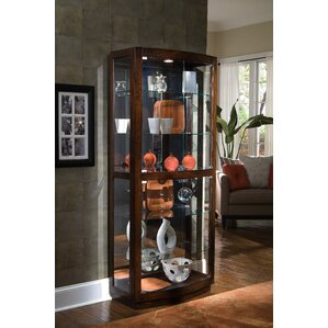 Cheshire Lighted Curio Cabinet by Red Bar..
