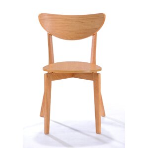 Weinmann Scandinavian Solid Wood Dining Chair (Set Of 2)