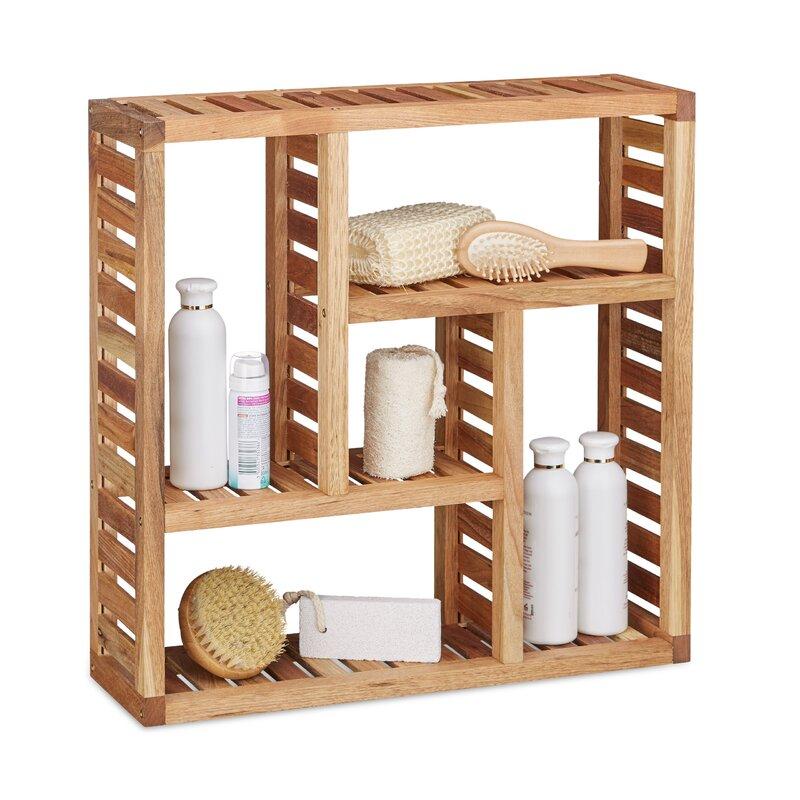 relaxdays 50 x 50 cm badregal bewertungen. Black Bedroom Furniture Sets. Home Design Ideas
