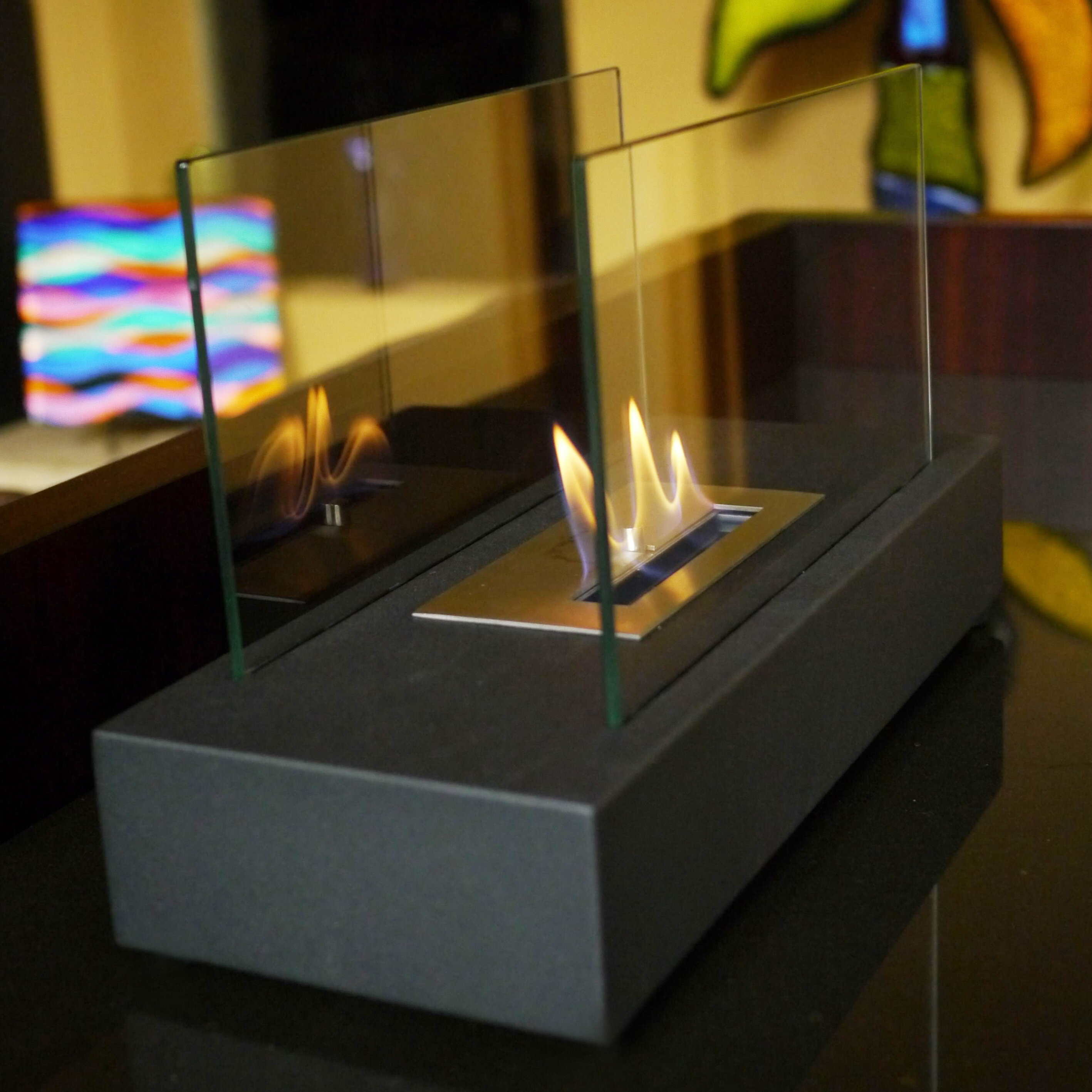 fire countertops county southern table design products fireplace california product firetable orange wave olson concrete